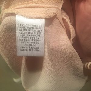 Umgee Tops - Umgee Cold Shoulder Ruffle Tunic Blouse size large